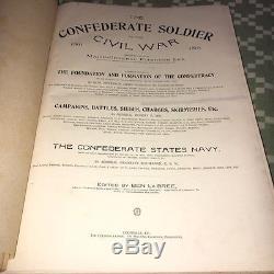 CIVIL WAR HISTORY Book South CONFEDERATE SOLDIER ARMY GENERAL Robert Lee Wars