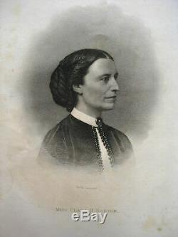 CIVIL WAR Women NURSE Nursing 1867 Hospital SANITARY FAIR Soldier Aid UNION Army