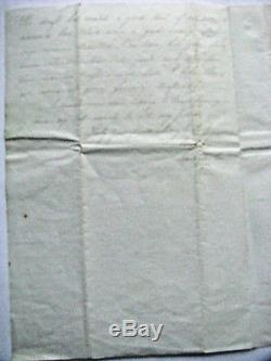CIVIL War Antietam Battlefield Letter Dead And Dying Soldiers