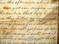 CIVIL War Black Soldiers Share Food With Pennsylvania Soldier Letter