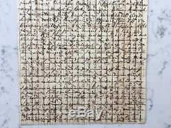 CIVIL War Letter Confederate Soldier Csa Camp Holmes Arkansas 1862 Texas Cavalry