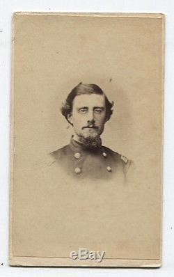 CIVIL War Soldier CDV Wearing Classes. James Lupton, N. J