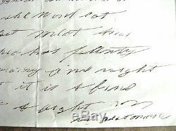 CIVIL War Soldier Pet Dog Camp Letter Camp Wilson Virginia 1864