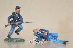 CONTE AMERICAN CIVIL WAR 5 x UNION IRISH BRIGADE SOLDIERS DEFENDING WOUNDED 2nu