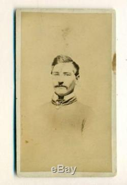 Ca. 1861 CONFEDERATE CIVIL WAR SOLDIER in UNIFORM cdv photo, 3rd VA