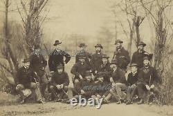 Canada Military Fenian Raids 16th Beds Reg Photo soldiers c1861-1866 Civil War
