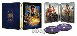 Captain America 1st Avenger+Winter Soldier+Civil War+Black Panther 4K STEELBOOK