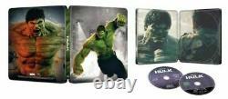 Captain America 1st Avenger+Winter Soldier+Civil War+Incredble Hulk 4K STEELBOOK
