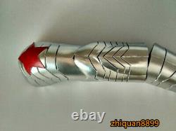 Captain America 3 Civil War Winter Soldier Cosplay EVA Arm Armor Props Handmade