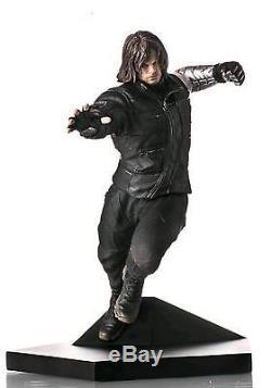 Captain America 3 Civil War Winter Soldier Statue 110 Scale Iron Studios F