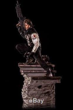 Captain America Civil War Statue 1/4 Winter Soldier Iron Studios