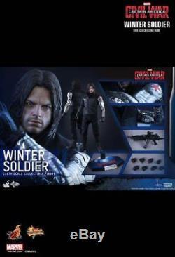 Captain America Civil War Winter Soldier 1/6 Scale MMS351 99% New