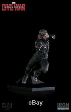 Captain America Civil War Winter Soldier Art Scale 1/10 Statue (Iron Studios)