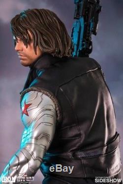 Captain America Civil War Winter Soldier Legacy Statue 14 Iron Studios
