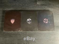 Captain America First Avenger Winter Soldier Civil War 4K Steelbook