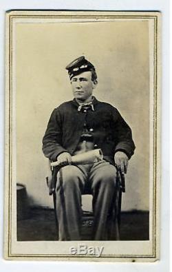 Cdv- CIVIL War Union Soldier