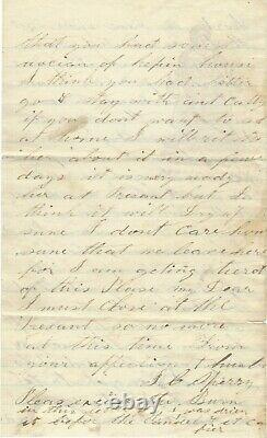 Civil War 10th Illinois Infantry Regiment Soldier Guards Prisoners