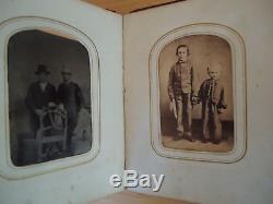 Civil War Album with KIA Capt 29th Ohio & other soldier