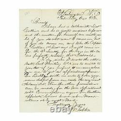 Civil War Archive of Nine 58th Pennsylvania Soldier Letters, 1862-1864
