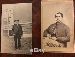 Civil War CDV of New Hampshire Soldier with Bonus Image