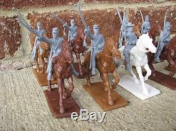 Civil War Confederate Cavalry Expeditionary Force 1/32 54MM Toy Soldiers Playset