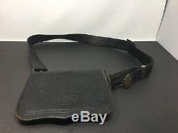 Civil War Era Ammo Pouch With Strap U. S. Military Soldier Field Gear
