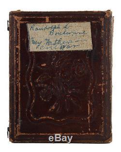 Civil War Identified Soldier original Tin Type circa 1864