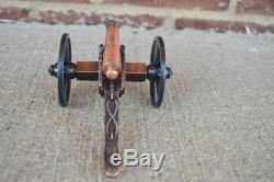 Civil War Napoleon Cannon Artillery Bronze Barrel Toy Soldier Union
