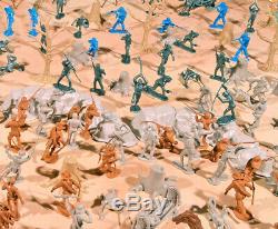 Civil War Playset #1 Marx Recast Antietam- 54mm Plastic Toy Soldiers