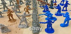 Civil War Playset #2 Pickett's Charge- 54mm Plastic Toy Soldiers