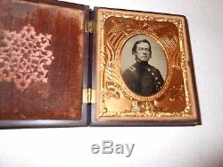 Civil War Soldier 1/6 Plate Tintype Thermoplastic Case