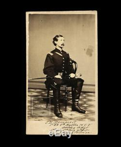 Civil War Soldier James H. Demarest Signed
