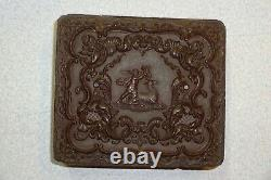Civil War Soldier's 1/6 Tintype Thermoplastic Case