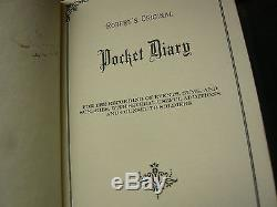 Civil War Soldier's Pocket Diary or Journal