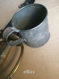 Civil War Soldiers MESS Cup Coffee / Cornbread Mash Tin Civil War Orig