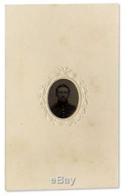 Civil War Tintype of Uniform Union Soldier