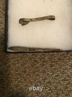 Civil War Union Baby US Soldier Belt Buckle Authentic Fort Magruder VIrginia