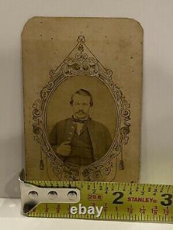 Civil War Union Soldier CDV Photograph named, John Vote 52nd Illinois Infantry