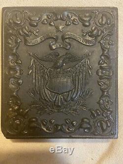 Civil War Union Soldier RARE The Union And Constitution Thermoplastic Case