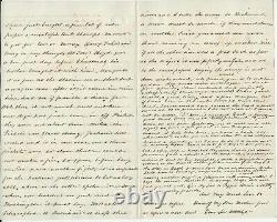 Civil War War Soldier's letter Camp Near Falmouth VA 12/27/62