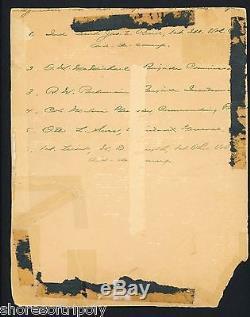 Col. Grigsby Cowboys Andersonville Pow CIVIL War Soldier Otto Original Photo