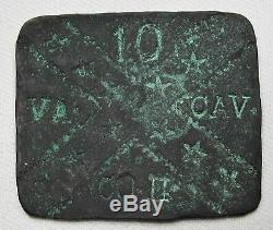 Confederate Civil War Soldier 1863 ID Tag 1st VA Cav (Wise Legion) POW CT-001