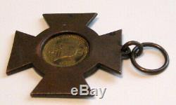 Confederate Cross Of Honor CIVIL War Antique Medal Gar Soldier / Liberty Bell