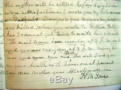 Connecticut CIVIL War Soldier Battle Letter Bermuda 100 Virginia