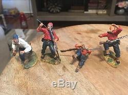 Conte 8 Civil War Zouvas Loose Figures