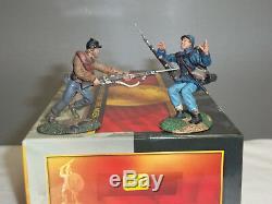 Conte Acw57175 Hand To Hand Vignette American CIVIL War Metal Toy Soldier Set