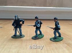 Conte Civil War Fields Of Glory Ltd. Toy Soldier Yanks & Rebs #57100 Union 3 Pcs