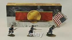 Conte Civil War Union Iron Brigade Command Officer, Flagbearer & NCO 57114