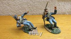 Conte Collectibles #ACW57168 Amer. Civil War IRISH BRIGADE CASUALTY4 Fig. Set