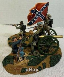 Conte DON TROIANI CIVIL WAR FIGURINES 54mm The Southern Cross Toy Soldier Set